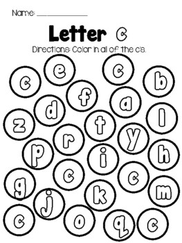 UPPER and LOWER case Alphabet Letter Recognition Practice