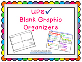 UPS Check Blank Graphic Organizers Freebie!