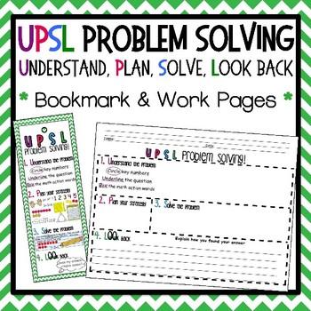UPSL Bookmark - Problem Solving