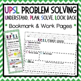 UPSL Bookmark - Problem Solving