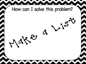 UPSL Problem Solving Posters