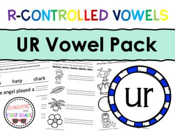 UR R-Controlled Vowel Pack