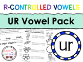 UR R-Controlled Vowel Pack