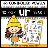 UR Worksheets and Activities NO PREP
