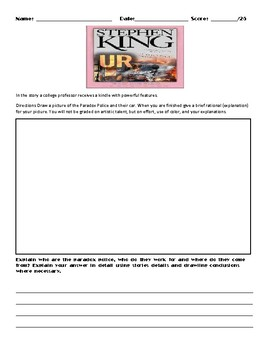 UR by Stephen King Assignment
