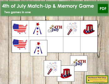 US 4th of July Match-Up and Memory
