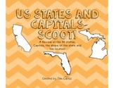 US 50 States and Capitals Scoot BUNDLE!