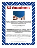 US Amendments Activities and Quizzes
