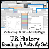 US American History Full Year for Google Drive Interactive