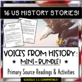 US/American History Primary Source Reading Passages & Scav