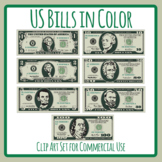 US Bills - United States Paper Money / Currency / Notes Cl