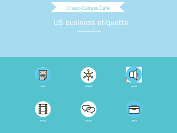 Cross-Cultural Training/Business English for ESL/EFL: US Business Etiquette