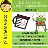 US Capacity Measurement FREEBIE! / CCSS Aligned 4th-5th Grades