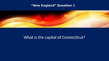 U.S. Capitals Trivia (Road Rally Trivia - State Capitals)