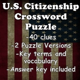 US Citizenship Crossword