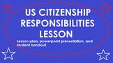 US Citizenship Responsibilities Lesson