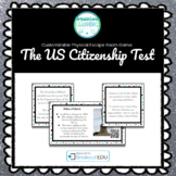 US Citizenship Test Customizable Escape Room / Breakout Game