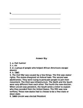 U.S. Civil War Assessment