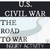Civil War Causes Inquiry based Project for American Histor