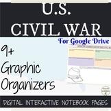US Civil War Digital Interactive Notebook