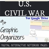 Civil War Digital Interactive Notebook