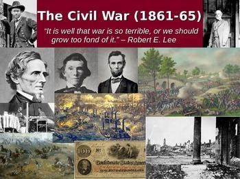 U.S. Civil War PowerPoint