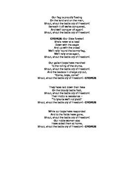 US Civil War Song Analysis