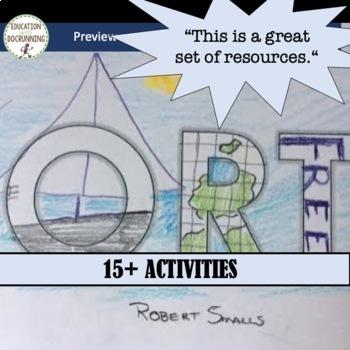 US Civil War Bundle 15+ Activities and Projects + INB