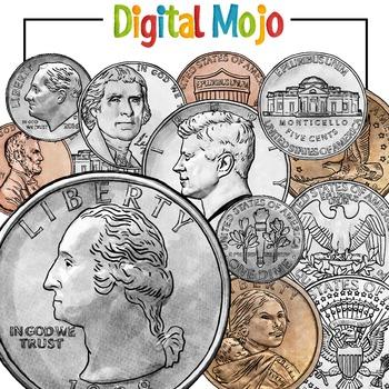 US Coin Clipart Money Clipart