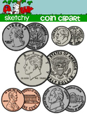 US Coin / Money Clipart