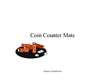 U.S. Coin Counting Mat