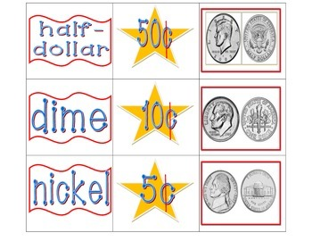 US Coin Matching Game
