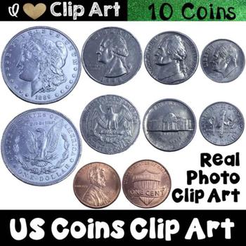 US Coins Clip Art
