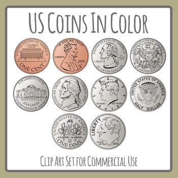 Color By Coin - Printable Money Worksheet – SupplyMe | 350x350