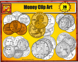 United States Currency Clip Art: Money Clip art - U.S. Coins