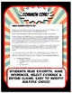 US Colonies Quiz and Test Common Core Writing and Literacy