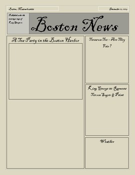 U.S. Colonies to Independence Activity Pack ( Boston Tea Party & Paul Revere)