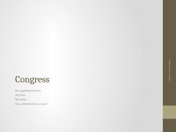 US Congress Powerpoint