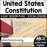U.S. Constitution for Google Classroom™   Distance Learning