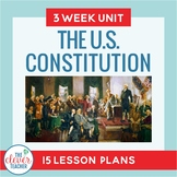 US Constitution: 3 Week Unit | Distance Learning | for Goo