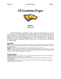 US Constitution Analysis Essay Packet