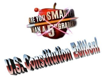 U.S. Constitution - Are You Smarter Than A 5th Grader? REVIEW