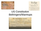 US Constitution Bell Ringers or Warm Ups