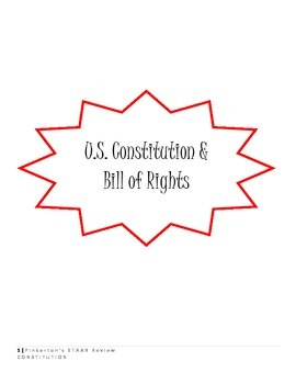 U.S. Constitution, Bill of Rights, Plus MORE - COMPREHENSIVE