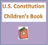 US Constitution Children's Book