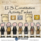 United States Constitution History and Literacy Activity Packet