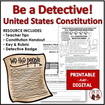 United States Constitution Activity