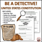 US Constitution Activity Constitution Detectives
