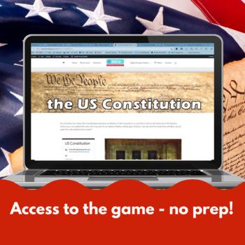 US Constitution - Digital breakout