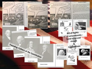 US Constitution: Interactive Notebook & Activities, with Bulletin Board Ideas